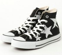 CONVERSE ALL STAR Star Rubber Sole Casual Style Unisex Street Style