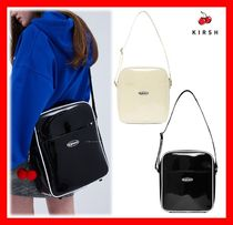 KIRSH Casual Style Unisex Street Style A4 Shoulder Bags