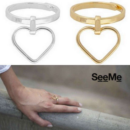 Costume Jewelry Casual Style Handmade Silver Brass Rings
