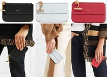 Chloe Drew Lambskin Plain Card Holders