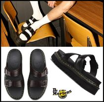 Dr Martens MYLES Casual Style Unisex Leather Sandals
