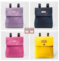 HUNTER Casual Style Street Style Collaboration Backpacks