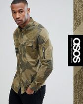 ASOS Camouflage Long Sleeves Shirts