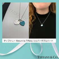 Tiffany & Co RETURN TO TIFFANY Casual Style Blended Fabrics Silver Fine