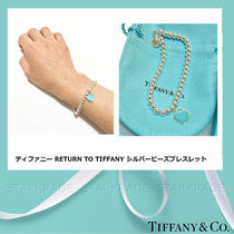 Tiffany & Co RETURN TO TIFFANY Blended Fabrics Silver Office Style Fine