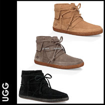UGG Australia Casual Style Suede Street Style Plain Ankle & Booties Boots