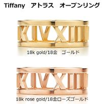 Tiffany & Co THE ATLAS Unisex 18K Gold Elegant Style Fine