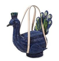 kate spade new york Tropical Patterns Casual Style Plain Straw Bags
