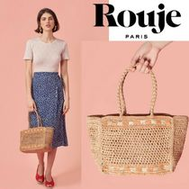 Rouje Casual Style Straw Bags