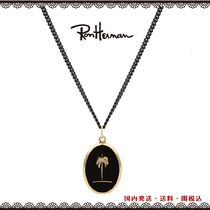 Ron Herman Tropical Patterns Street Style 18K Gold Necklaces & Chokers