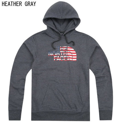 THE NORTH FACE Hoodies Long Sleeves Cotton Logos on the Sleeves Hoodies 2