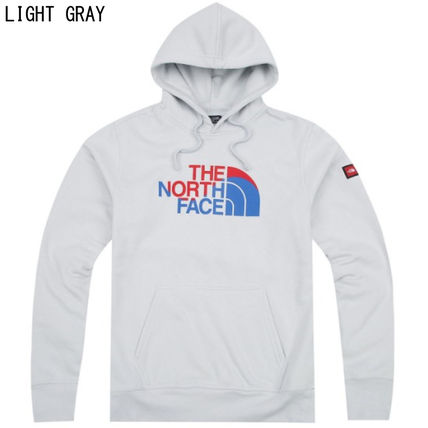 THE NORTH FACE Hoodies Long Sleeves Cotton Logos on the Sleeves Hoodies 6