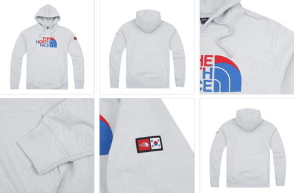 THE NORTH FACE Hoodies Long Sleeves Cotton Logos on the Sleeves Hoodies 7
