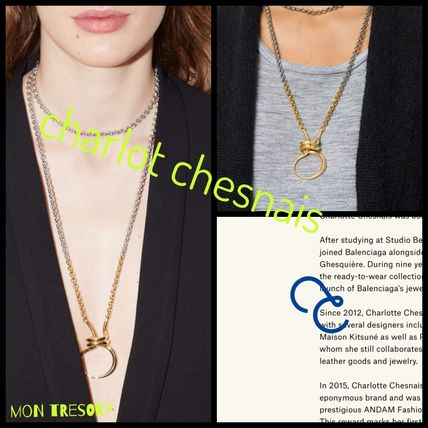 Casual Style Chain Silver Brass 18K Gold