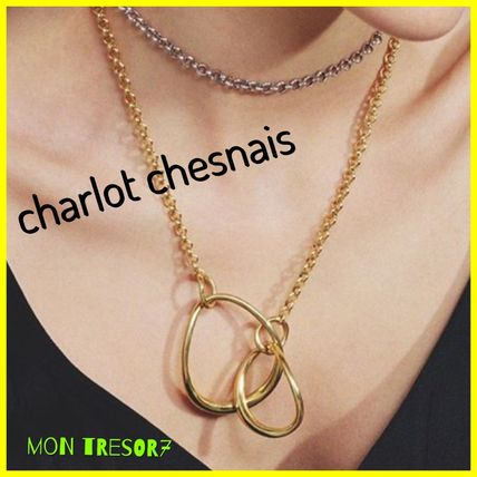 Casual Style Chain Handmade Platinum Brass 18K Gold