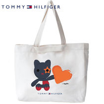 SeeMe Heart Casual Style Collaboration Handmade Totes