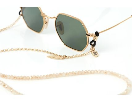 Blended Fabrics Street Style Chain Accessories