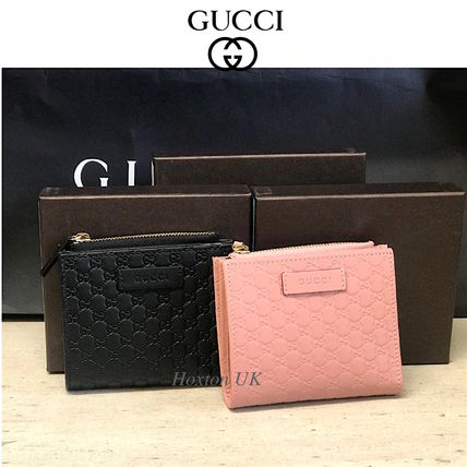 754a5f60ad1 GUCCI Leather Folding Wallets (510318 BMJ1G 1000) by hoxton-uk - BUYMA