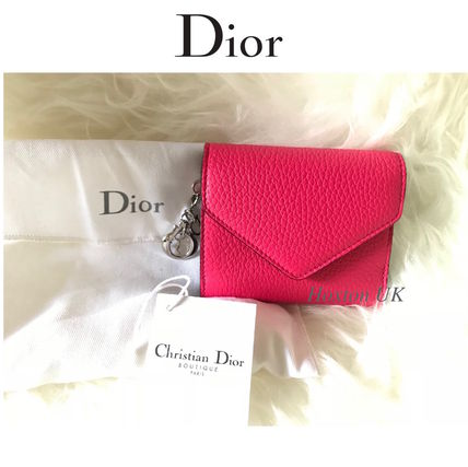 Bi-color Plain Leather Folding Wallets