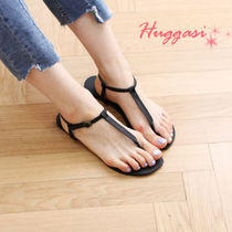 Casual Style Street Style Plain Handmade Shower Shoes