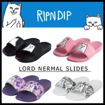 RIPNDIP Street Style Other Animal Patterns Shower Shoes Sandals