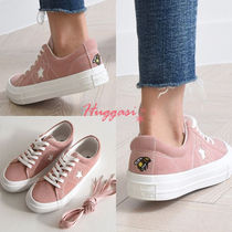 Star Round Toe Casual Style Street Style