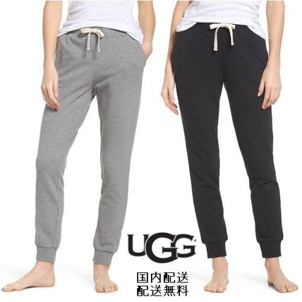 Casual Style Street Style Plain Cotton Long Pants