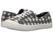 ROCKET DOG Gingham Plain Toe Casual Style Street Style Low-Top Sneakers