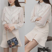Long Sleeves Medium Party Style Shirts & Blouses