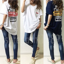 Casual Style Unisex Street Style Plain Cotton Long