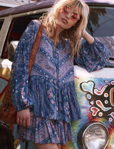SPELL Paisley Star Shirts & Blouses