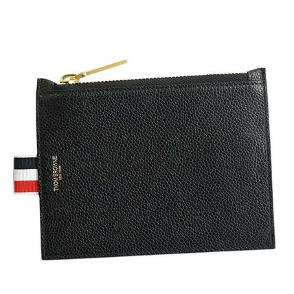 Calfskin Plain Coin Purses