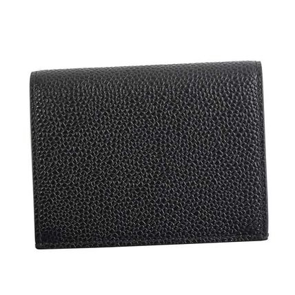 Calfskin Plain Card Holders