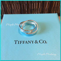 Tiffany & Co TIFFANY 1837 Costume Jewelry Silver Elegant Style Rings