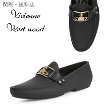 Vivienne Westwood Moccasin Plain Leather Loafers & Slip-ons