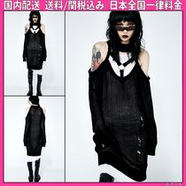 DOLLS KILL Casual Style Plain Medium Oversized Sweaters