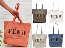 FEED Casual Style Cambus A4 Shoppers