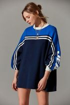 Urban Outfitters Crew Neck Stripes Casual Style Street Style Collaboration