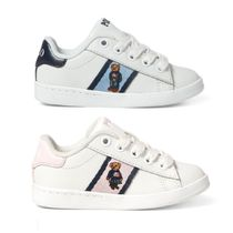 Ralph Lauren Street Style Kids Girl Sneakers