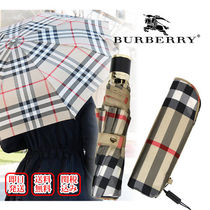 Burberry Other Check Patterns Unisex Street Style Office Style