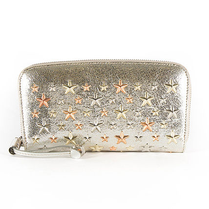 Star Studded Long Wallets