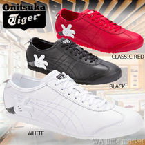 Onitsuka Tiger Unisex Collaboration Leather Sneakers