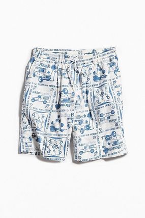 Printed Pants Street Style Cotton Shorts
