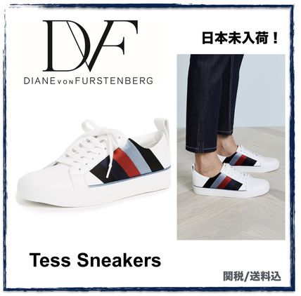 Casual Style Street Style Bi-color Low-Top Sneakers