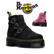 Dr Martens Casual Style Collaboration Flat Boots