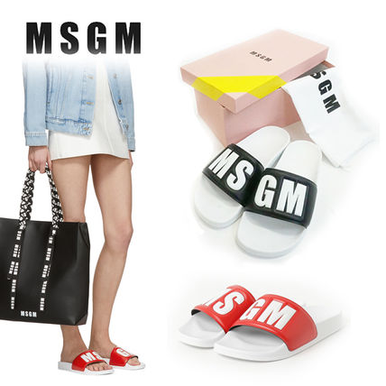 Open Toe Platform Casual Style Street Style Shower Shoes
