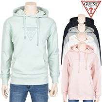 Guess Pullovers Street Style Cotton Hoodies