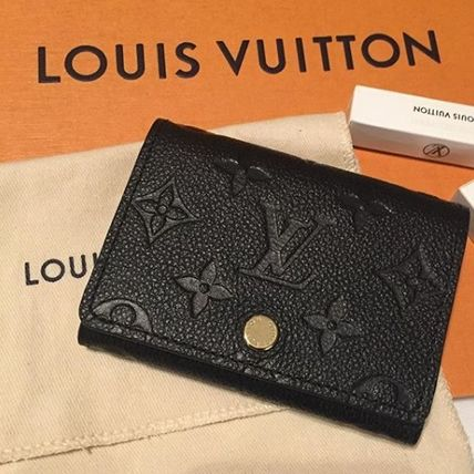 Louis Vuitton MONOGRAM EMPREINTE Business Card Holder