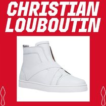 Christian Louboutin Street Style Plain Leather Oxfords
