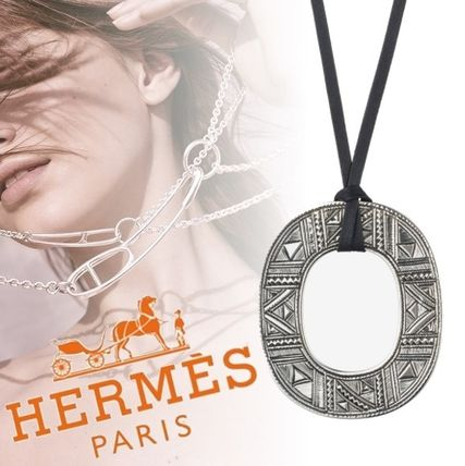 HERMES 2018 SS Costume Jewelry Party Style Home Party Ideas Silver